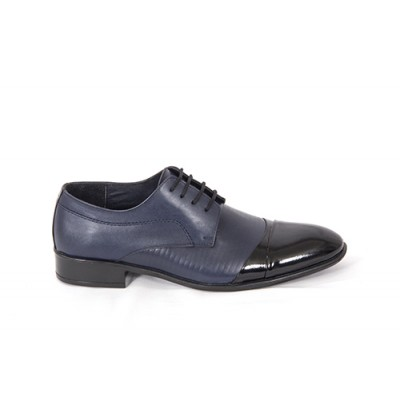 Lace-up Analin Patent Leather Neolite Sole Shoes 7484