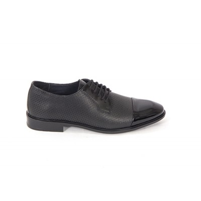 Lace-up Analin Patent Leather Neolite Sole Shoes 7516