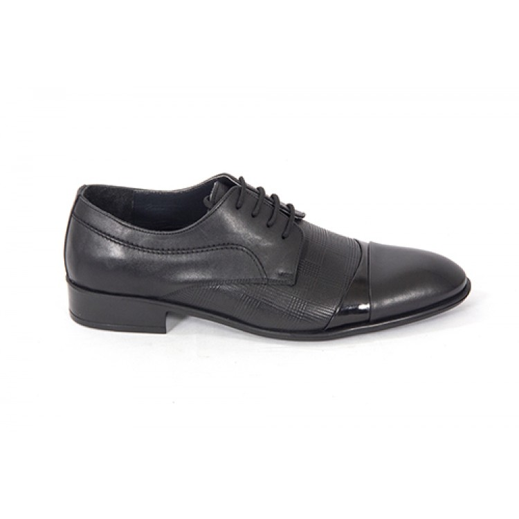 Lace-up Analin Patent Leather Neolite Sole Shoes 7548