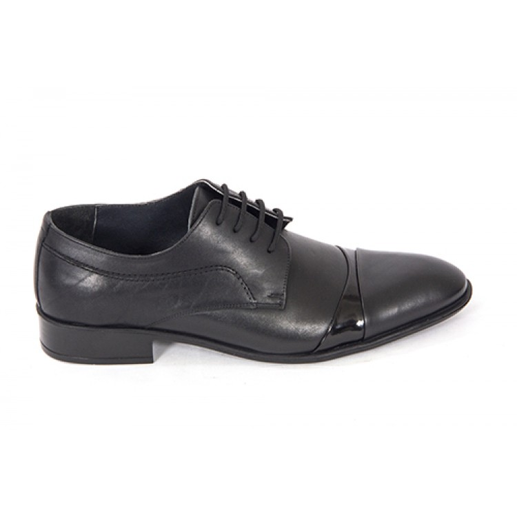 Lace-up Analin Patent Leather Neolite Sole Shoes 7560