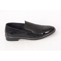 Lace-up Analin Patent Leather Neolite Sole Shoes 7564